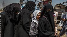 UN fordern Wiedergutmachung: IS-Kämpfer missbrauchen Tausende Frauen