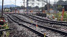 Problembaustelle im Rheintal: Bahn verlängert Sperrung bei Rastatt