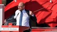 Kritik an Aufrüstung und Trump: Schulz will Abzug von US-Atomwaffen