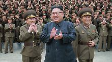 UN-Sanktionen zum Trotz: Kim lässt neue Raketenteile bauen