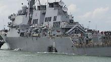 Nach Kollision mit Handelsschiff: US-Kommandeur muss gehen