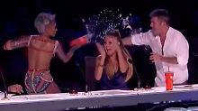 Wutausbruch oder Showeinlage?: Ex-Spice-Girl Mel B rastet völlig aus
