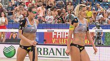 """Beach-Duo Ludwig/Walkenhorst: Müde """"Golden Girls"""" bauen auf die HSV-Fans"""