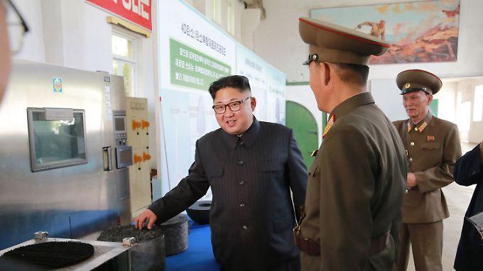 Kim Jong Uns Nordkorea bekommt weitere UN-Sanktionen aufgebrummt.