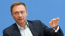 """Neuer Status für Flüchtlinge: Lindner fordert """"Zuwanderungsstrategie"""""""
