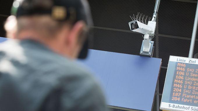 Am Berliner Bahnhof Südkreuz werden seit 1. August Kameras mit automatischer Gesichtserkennung getestet.