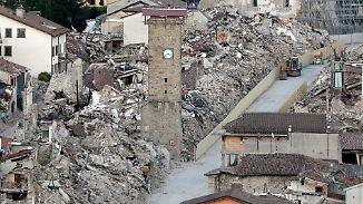 Bürokratiewahnsinn in Amatrice: Erdbebenopfer leben weiter zwischen Trümmerbergen