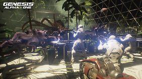 Genesis Alpha One: Das Weltall birgt viele Gefahren.