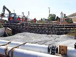 Problem-Baustelle bei Rastatt: Rheintal-Chaos lenkt Verkehrsströme um