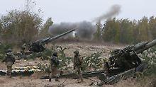 Abzug schwerer Waffen: Neue Waffenruhe in Ostukraine in Kraft