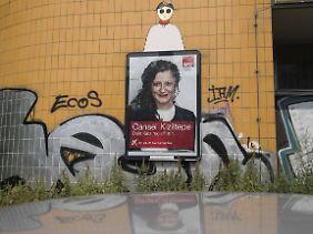 Im Bezirk Friedrichshain Kreuzberg buhlen mehrere türkischstämmige Kandidatinnen um die Gunst der Wähler. Im Bild: Cansel Kiziltepe von der SPD.