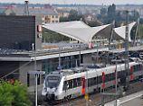 Die Jury zeichnete das moderne Design des Bahnhofsneubaus in Wittenberg aus.