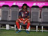 Sein Trainer scheint nicht so völlig von ihm überzeugt zu sein: Renato Sanches.