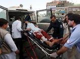 Schwerer Anschlag in Kabul: IS-Attentäter zündet Bombe in Moschee