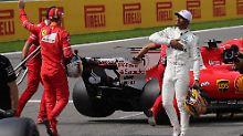 Botschaft der Familie Schumacher: Hamilton kämpft mit den Tränen
