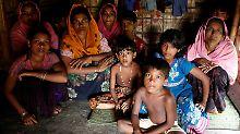 Ronhingya-Flüchtlinge in Bangladesch.