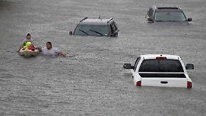 "Hurrikan ""Harvey"" tobt über Texas: Houston versinkt in den Fluten"