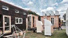 Wer hier wohnt, lebt kuschelig: Auf zehn Quadratmetern ist einiges möglich