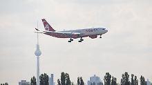 """Zeitplan """"extrem stramm"""": Air Berlin fliegt schnellem Verkauf entgegen"""