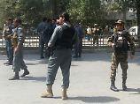 Der Tag: Explosion erschüttert Kabul nahe US-Botschaft