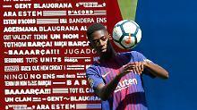Der Sport-Tag: Dembélé-Vorstellung in Barcelona wird zur Lachnummer