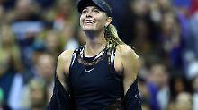 Dank Wildcard bei den US Open: Scharapowa glänzt bei packendem Comeback