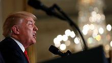 Nächstes Macho-Spielchen: Trump kommt mit den Frauen durcheinander