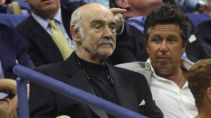 Ein ganz besonderer Gast bei den US Open: Sean Connery.