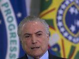Agonie statt Aufbruch: Präsident Temer verärgert Brasilianer