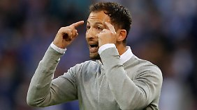 In den Plänen von Schalkes Trainer Domenico Tedesco hatte Benedikt Höwedes wenig Platz.