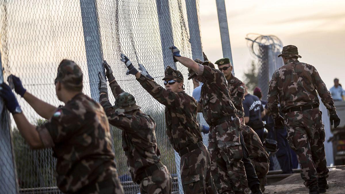 EU soll für Ungarns Grenzzaun zahlen