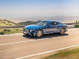 Nicht nur Profi-Fußballer lieben den Bentley Continental GT. Jetzt soll er noch sportlicher werden.