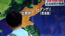 Seoul und Tokio bestätigen Test: Nordkorea hat eine Atombombe gezündet