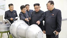 Stärker als Atombomben: H-Bombe würde Drohpotential drastisch erhöhen