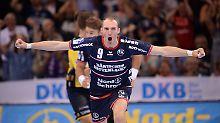 Der Sport-Tag: Handball: Flensburg schockt Meister Rhein-Neckar Löwen