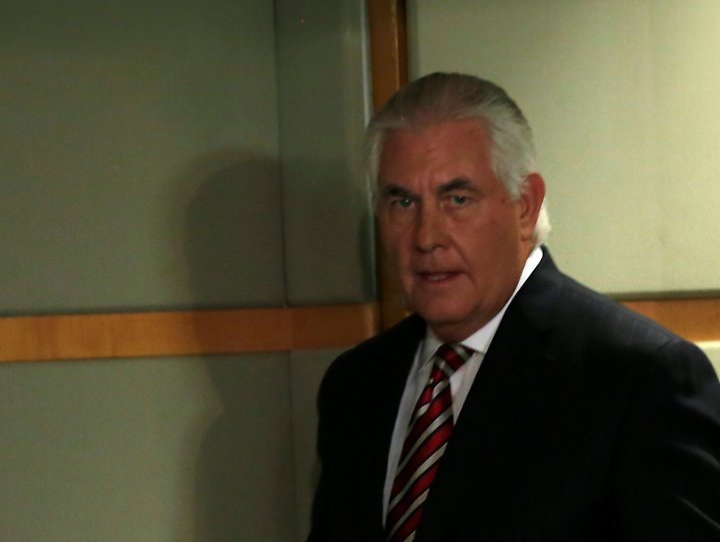 Tillerson ist im eigenen Haus eine Art Phantom - außerhalb seines engsten Kreises lässt er sich selten unter Mitarbeitern blicken.