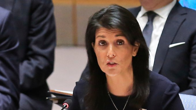 Nikki Haley warf Nordkorea vor dem Sicherheitsrat vor, einen Krieg heraufzubeschwören.