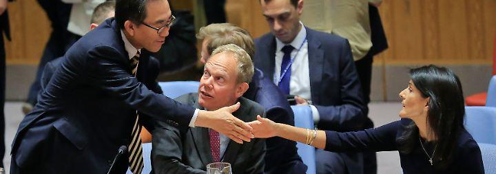 """""""Kim Jong Un bettelt um Krieg"""": UN-Dringlichkeitssitzung berät über Nordkorea"""