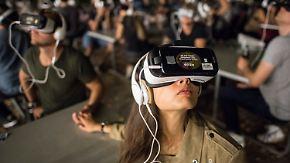Lernen, Spielen, Arbeiten: Virtual Reality besticht durch Vielseitigkeit