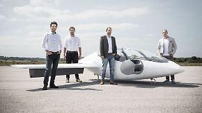 Wettlauf um fliegende Autos: Lilium Aviation baut elektrisches Lufttaxi