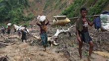 Türkei entsendet Hilfsgüter: Muslimische Staaten springen Rohingya bei