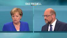 Stern-RTL-Wahltrend: Geringfügige Verluste für Merkel und Schulz