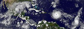 """Irma"" noch stärker als ""Harvey"": Hurrikan trifft auf Festland"