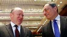 """Deutsche-Bank-Chef warnt EZB: Cryan sieht """"Blasen an immer mehr Stellen"""""""