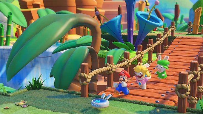 So hat man Mario, Peach und Luigi auch noch nicht gesehen.