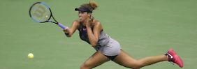 Halbfinale ist perfekt: US-Tennisspielerinnen schreiben Geschichte