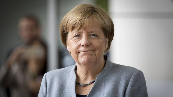 Kanzlerin Merkel strebt in ihre vierte Amtszeit.
