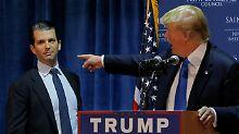 Treffen mit russischer Anwältin: Trump Jr. offenbart sich Senatsausschuss