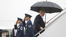 """USA haben """"wunderschöne"""" Waffen: Trump lässt Manöver gegen Nordkorea offen"""