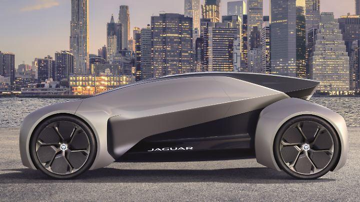 So fährt man 2040 Jaguar.